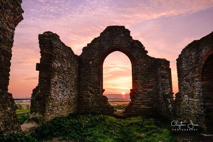 Old Ruin at Sunrise