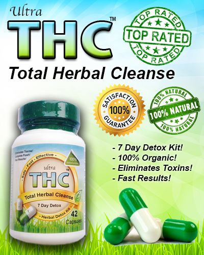 Ultra THC Marijuana Detox Capsules will completely flush your body of any unwanted Marijuana / THC elements 100% GUARANTEED! Our THC detox capsules contain the most powerful exotic herbs in exact proportions. We have been in the detox business for over 10 years and strongly urge you not to buy detox products from your local sketchy head shop. We have heard horror stories! Don't waste your time, money, job or freedom… http://www.magicdetox.com