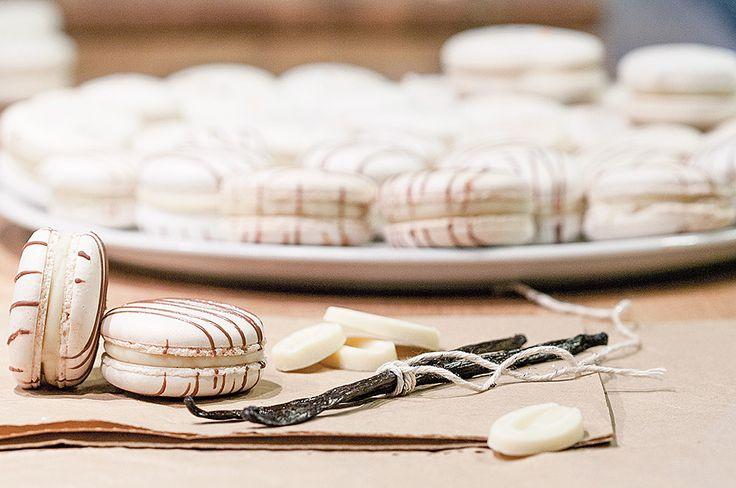 Macarons à la vanille ❤❤❤