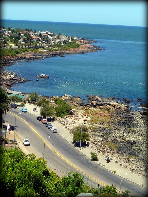 Punta Fría, vista desde la Virgen Stella Maris. Piriapolis, Uruguay