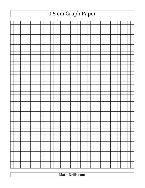 0 5 Cm Graph Paper All School Ideas Pinterest
