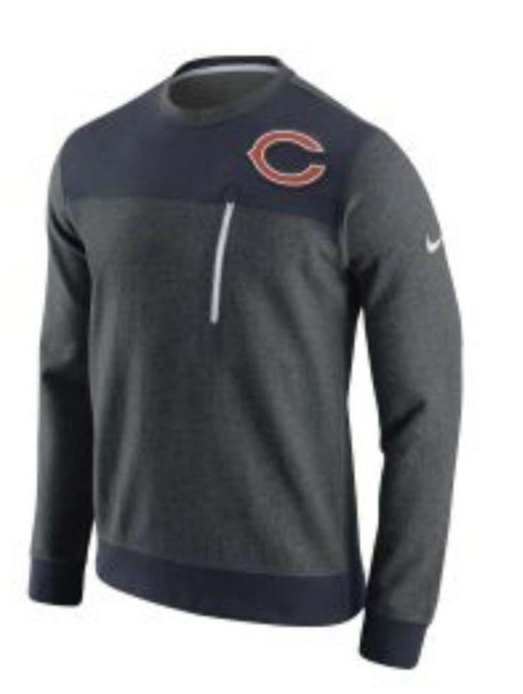 Nike Chicago Bears NFL Stadium Sweatshirt Top Long Sleeve Mens  M, L, XL NWT $80 #Nike #SweatshirtsFleeces
