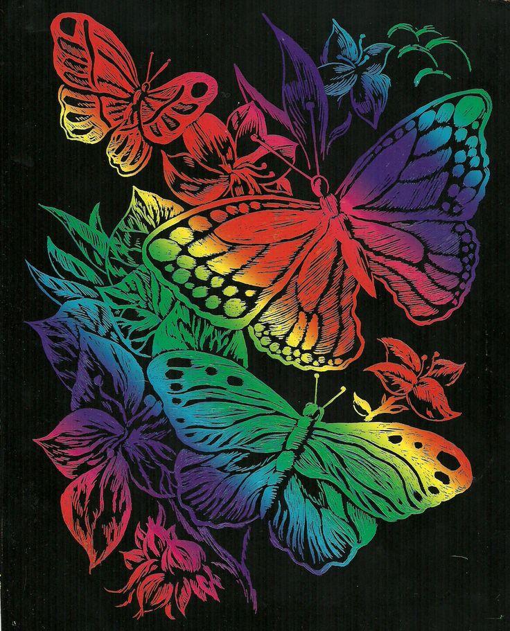 32 best Scratch art images on Pinterest | School, Art ...