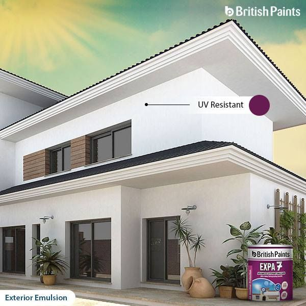 Expa 7 is the key to #Ultraviolet (UV) protection for the exteriors.