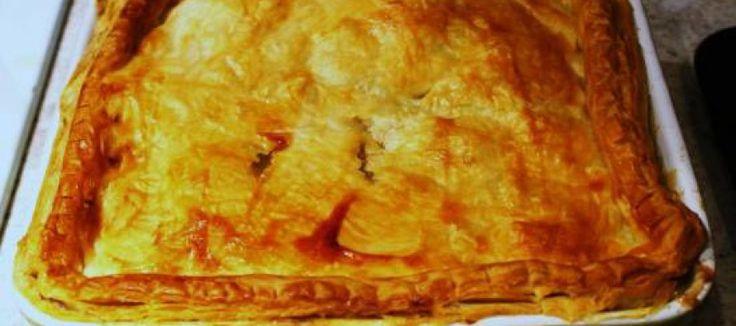 Heerlijke herfst kip-champignon-groentetaart (British Pie) | Lekker Tafelen