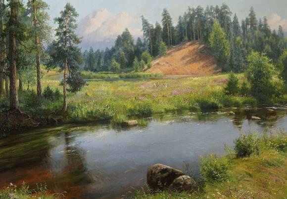 Лялин луг., автор Владимир. Артклуб Gallerix