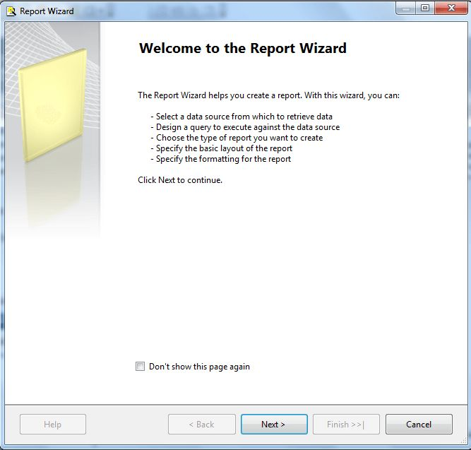 Project wizard http://www.technicgang.com/sql-server-reporting-services-tutorial-15-steps-report/