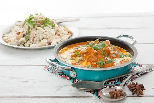 Mango Chicken with Cauliflower Rice