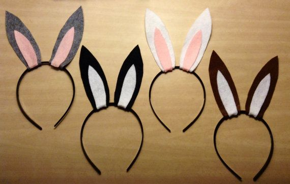 You will receive 10 bunny rabbit ears headband. Color options are endless and can be completely customized. When selecting the color, the first color