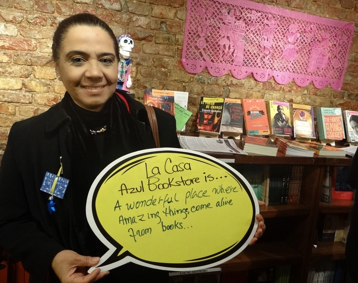 Local authors and fans share what @LaCasaAzulBooks means