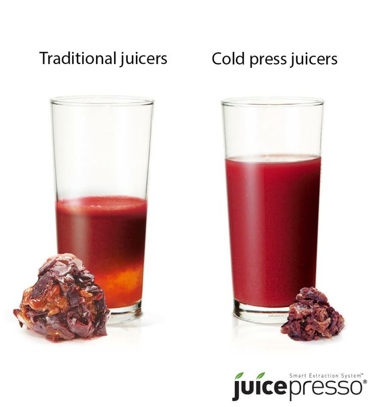 Cold press juicers like Juicepresso produce the maximum amount of juice without separation, while retaining all enzymes and nutrients in fruits and vegetables.