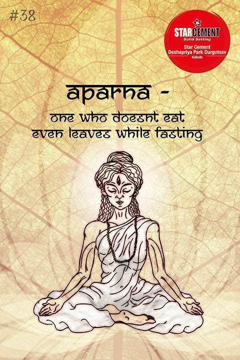 Meaning of 108 names of Goddess #Durga according to the quality she possesses. #StarCement #Kolkata