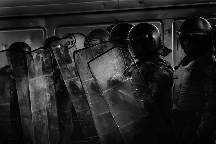 Visite mi perfil en la nueva red de fotografía Chilena, Protesta estudiantil en Santiago de Chile.