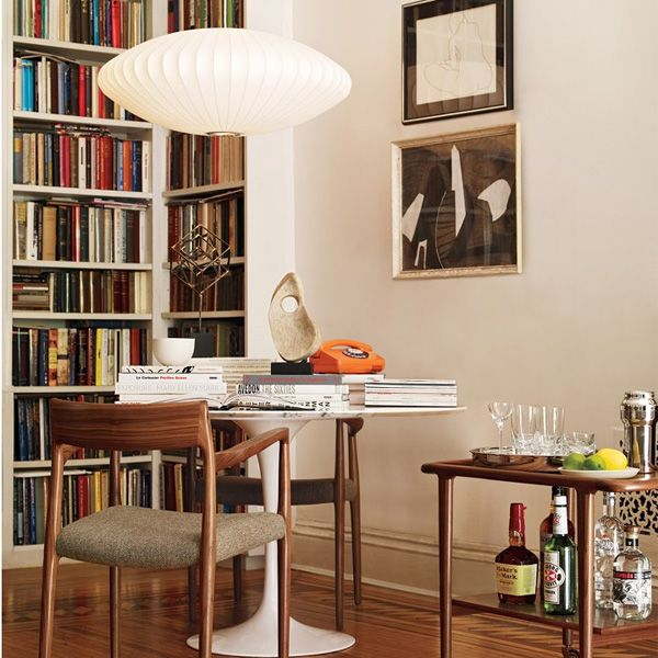 Image result for saarinen tulip table in classic living room