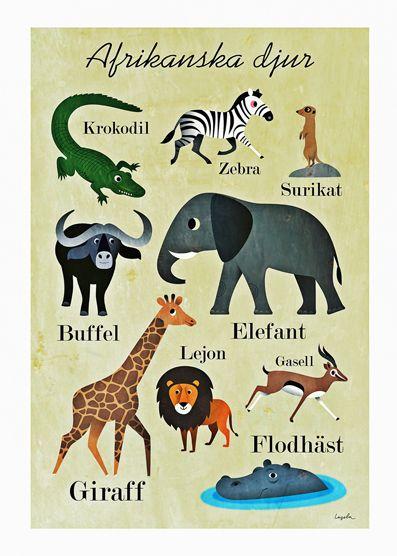 afrikanska-djur Ingela P Arrhenius