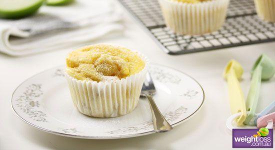 Low Fat Apple & Cinnamon Muffins. #HealthyRecipes #DietRecipes #WeightLossRecipes weightloss.com.au