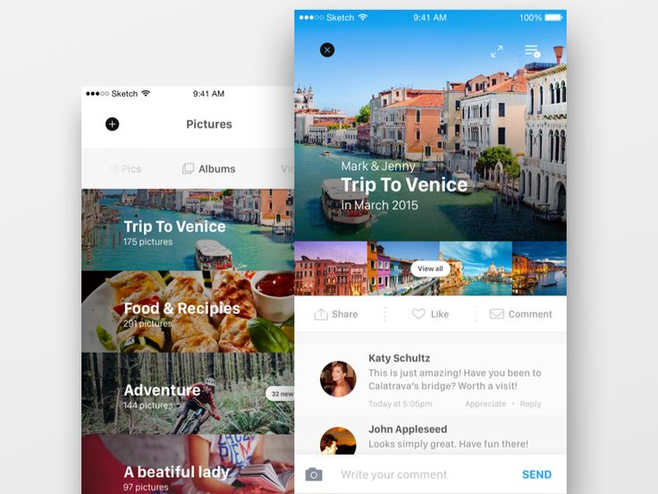 Preview media app | #UI #UX