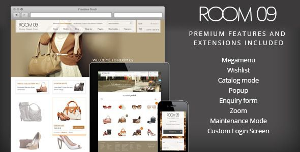 Room 09 Shop – Multi-Purpose e-Commerce Responsive WordPress Theme