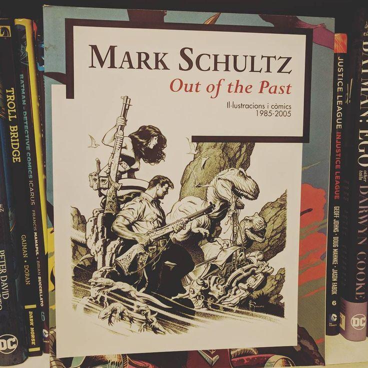 Matk Schultz out of the past #artbook del creador de #xenozoictales #cadillacsandinosaurs 1100