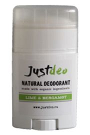 Lime & Bergamot natuurlijke deodorant, JustDeo