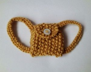 knitted bag for blythe - free pattern
