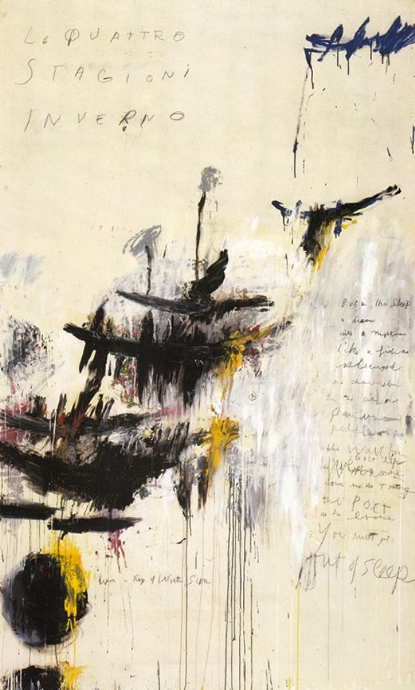 Cy Twombly, Winter.