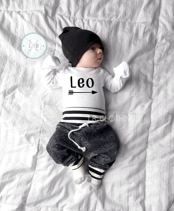 PERSONALIZED newborn hospital outfit 7ef9e9d73777