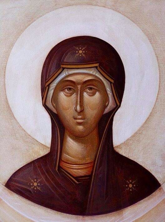 Theotokos - contemporary by Gabriel Toma Chituc.