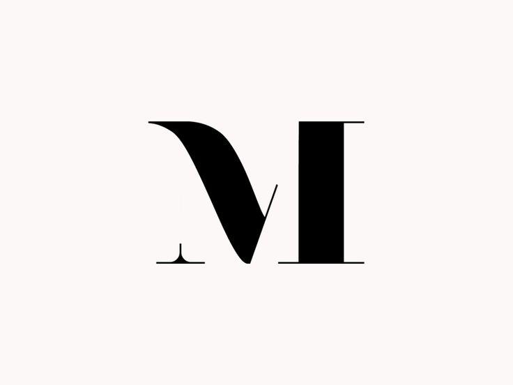 Mel Volkman Monogram Logo