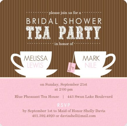 26 best images about Bridal shower – Bridal Shower Invitations Tea Party Theme