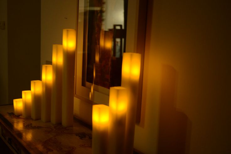 7 best images about wax luminaries square on pinterest for Reusable luminaries