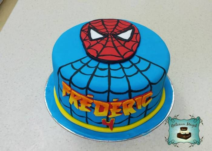 spiderman cake www.facebook.com/gateauxmagik