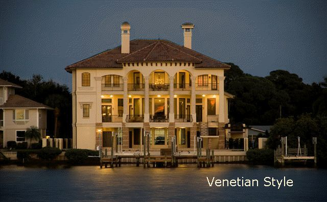 Venetian Style Homes luxury homes:plans for europeasn mansions, castles, and
