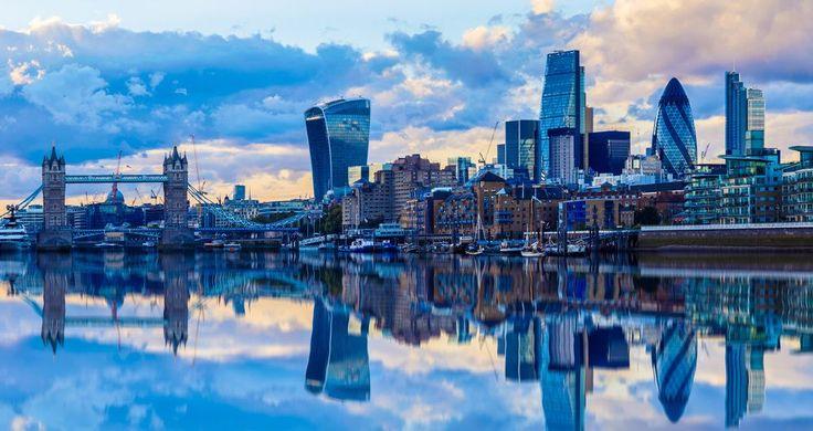 Die Skyline von London
