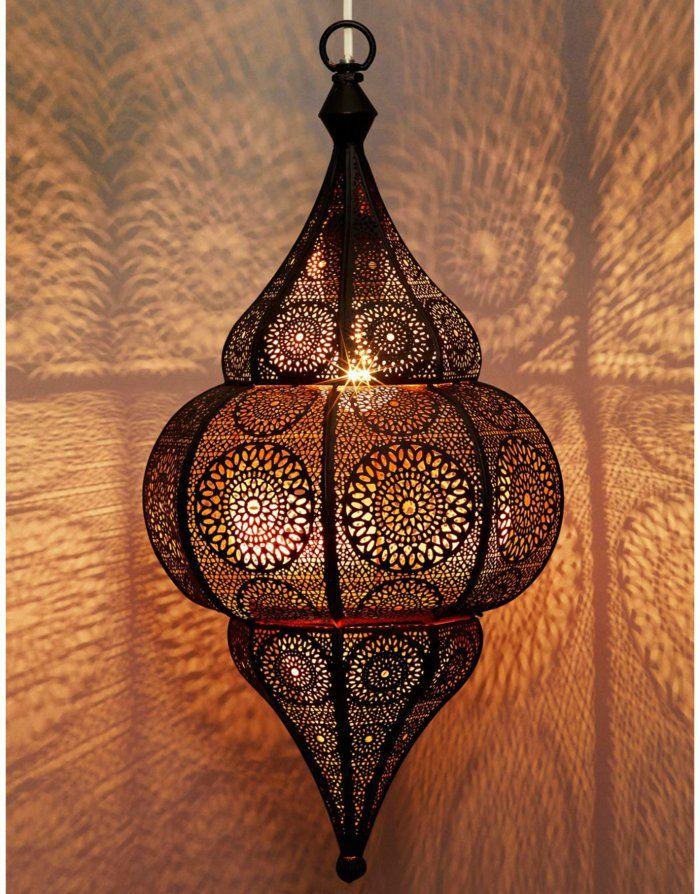 orientalische lampen filigrane ornamente runde formen                                                                                                                                                                                 Mehr