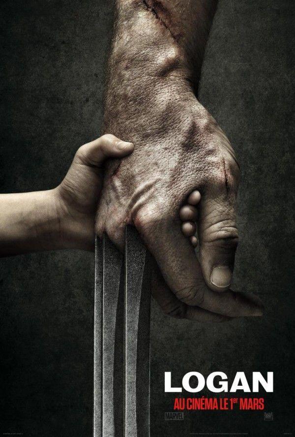 #LOGAN montrera ses griffes au cinéma le 1er mars 2017 avec #HughJackman #WOLVERINE               #ONELASTTIME
