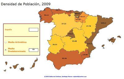 Densidad de población 2009