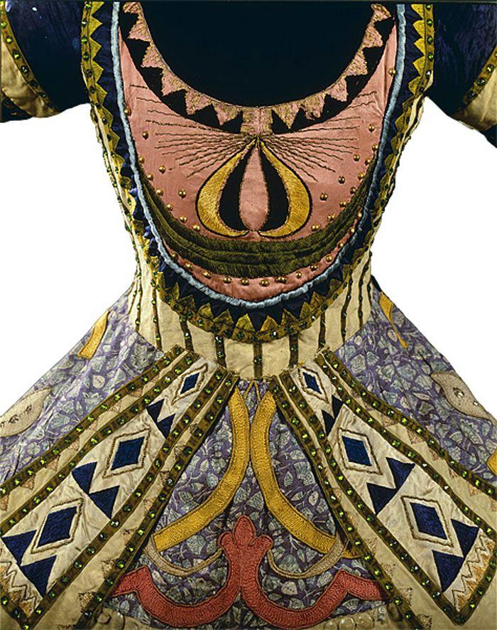 Vaslav Nijinsky's costume designed for the Ballets Russes production Le Dieu Bleu by Leon Bakst, c. 1912