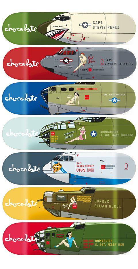 Chocolate Skateboard - Bomber Series 2014