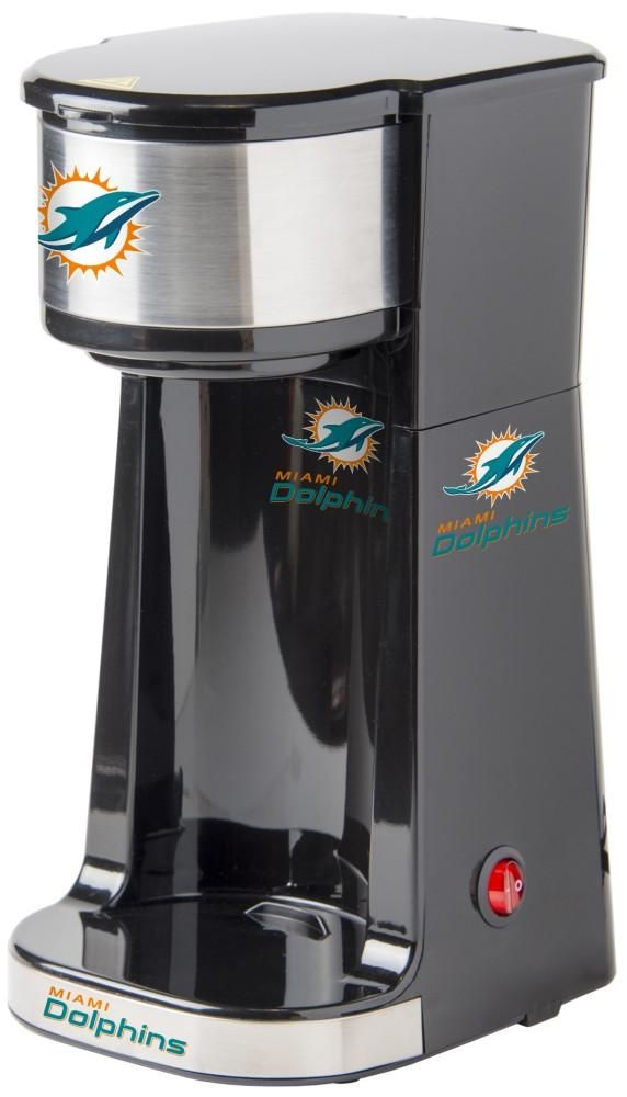 302 best miami dolphin 39 s images on pinterest dolphins for Apartment size coffee maker