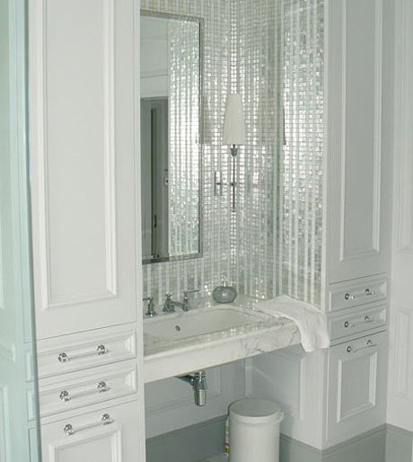 2038 Best Images About Bathroom Love On Pinterest: 17 Best Images About Bling Backsplash On Pinterest