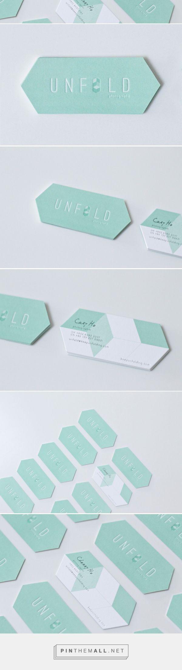 Unique Custom Shaped Business Cards – Unfold | CardRabbit.com. business cards branding Print, painting, ideas, sketch, handmade, font, typographie, business card Croquis, idée, esquisse, ecriture, police d'écriture, carte de visite - la touche d'Agathe