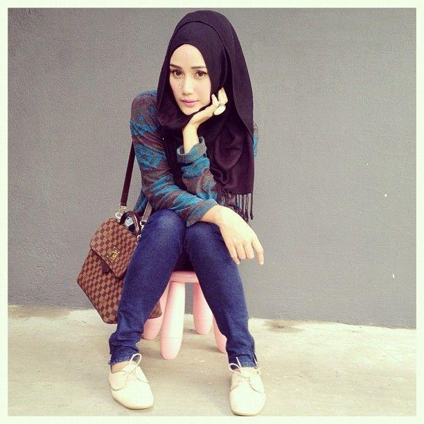 beautifulll hijabi #Hijab #muslimah