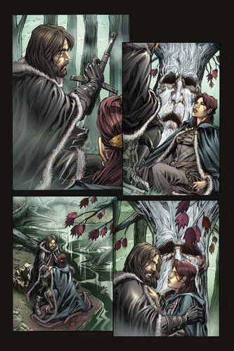 Game of Thrones Comic Book fondo de pantalla containing comic book in The juego de tronos Club