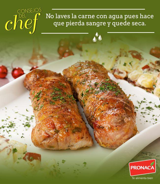 ¡No más carnes duras ni secas! Con este consejo del Chef Pronaca todas tus recetas con carne quedarán siempre jugosas y muy ricas.