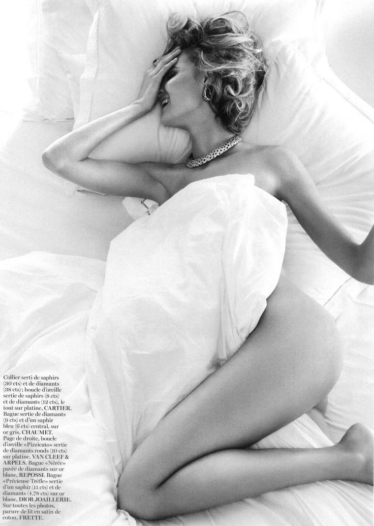 Magdalena Frackowiak Channels Marilyn Monroe By Giampaolo Sgura for Vogue Paris May 2013