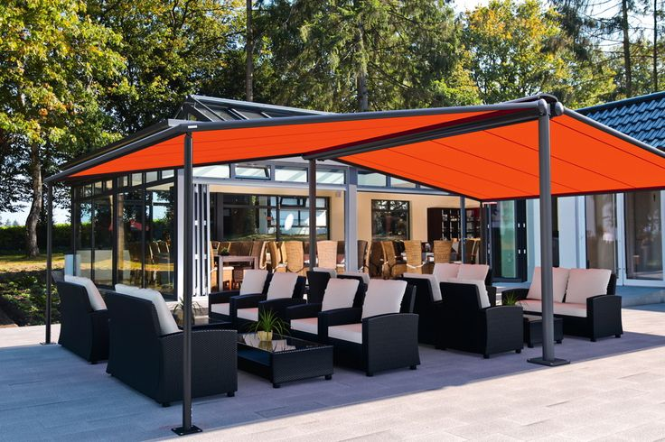 Markilux Syncra Commercial Awning - Expand usable floorspace in cafés, restaurants and bars.