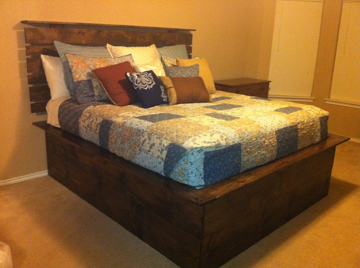 1000 Ideas About High Platform Bed On Pinterest Head