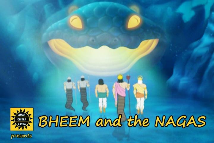 Bheem and the Nagaas