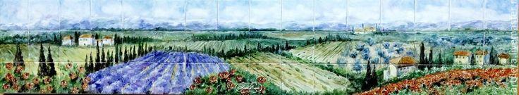 Лавандовые поля - Ярмарка Мастеров - ручная работа, handmade